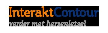 Het logo van InteraktContour, partner van het vraaghuis in Zeewolde