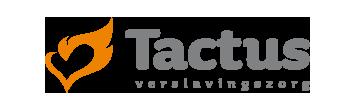 Het logo van Tactus, partner van het vraaghuis in Zeewolde