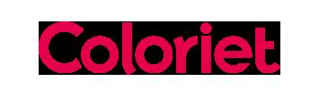 Het logo van Coloriet, partner van het vraaghuis in Zeewolde