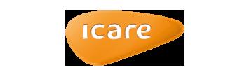 Het logo van Icare, partner van het vraaghuis in Zeewolde
